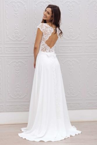Boutique de robe de mariée bohème et moderne à Montréal