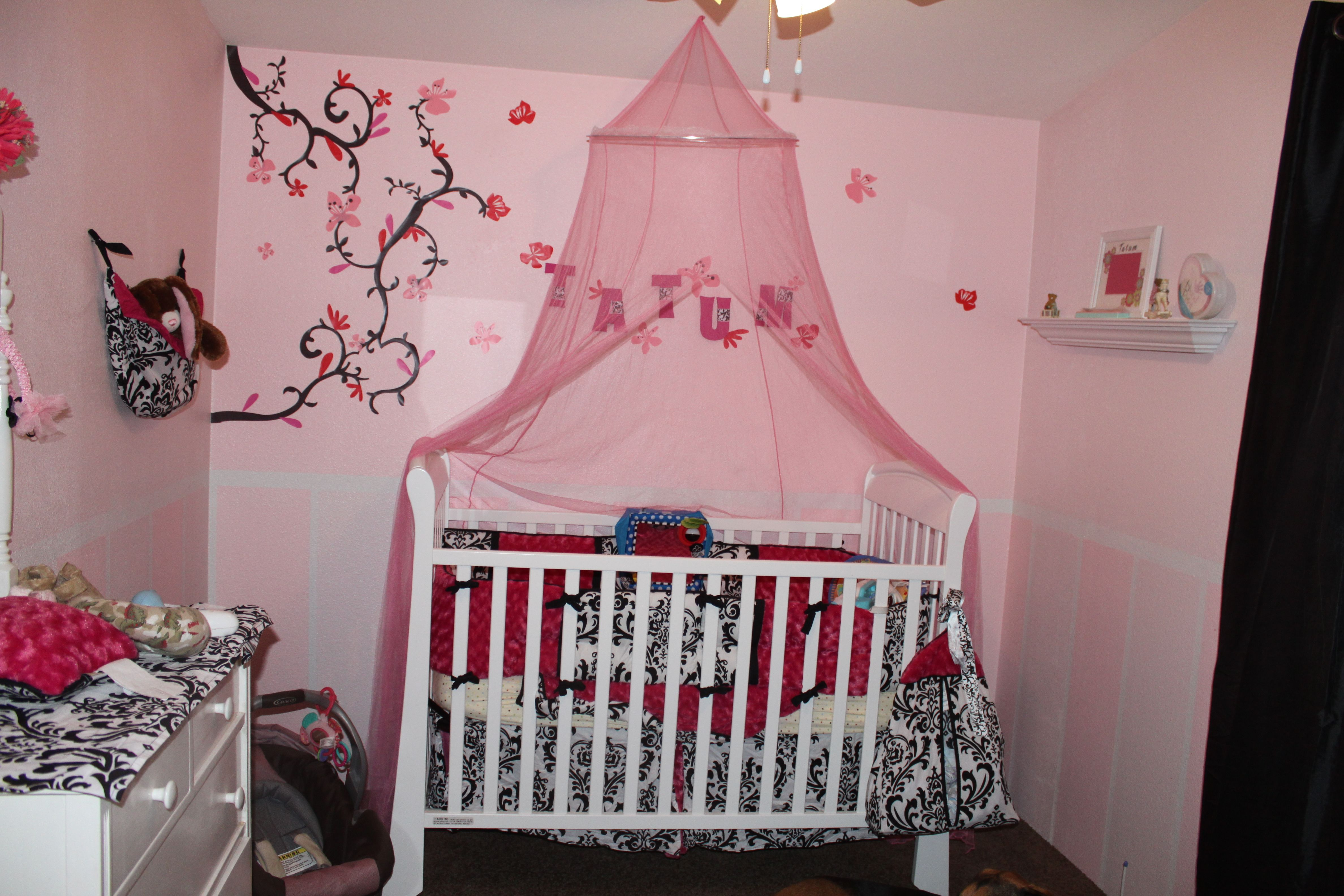 My Baby Girls Nursery That Thing Hanging Over The Crib