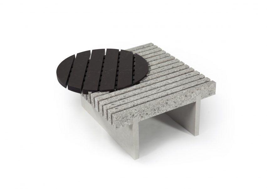 Furniture by Sebastian Herkner for Caesarstone