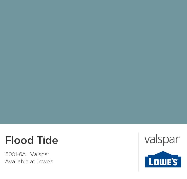 Valspar Paint Color Chip Flood Tide Valspar Paint Colors Valspar Valspar Paint