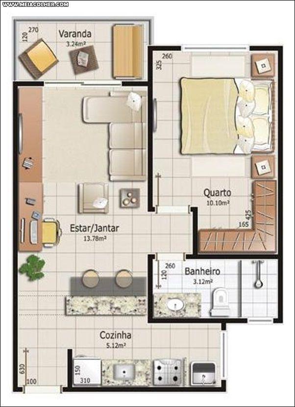 modelos de casas pequenas e baratas para construir meia