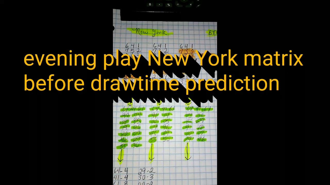 Watch me predict NEW YORKS LOTTERY pick 3 tonight p1/2