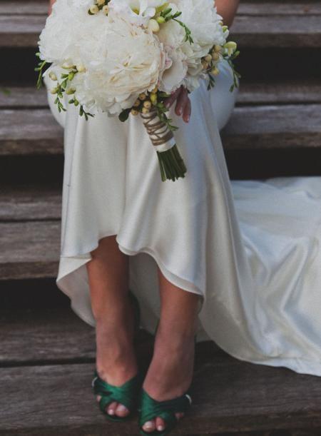 Copacabana Australia Wedding With A Dash Of Vintage Emerald