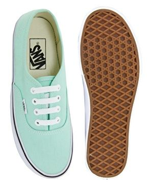 Image 3 of Vans Authentic Mint Trainers | Lace up trainers