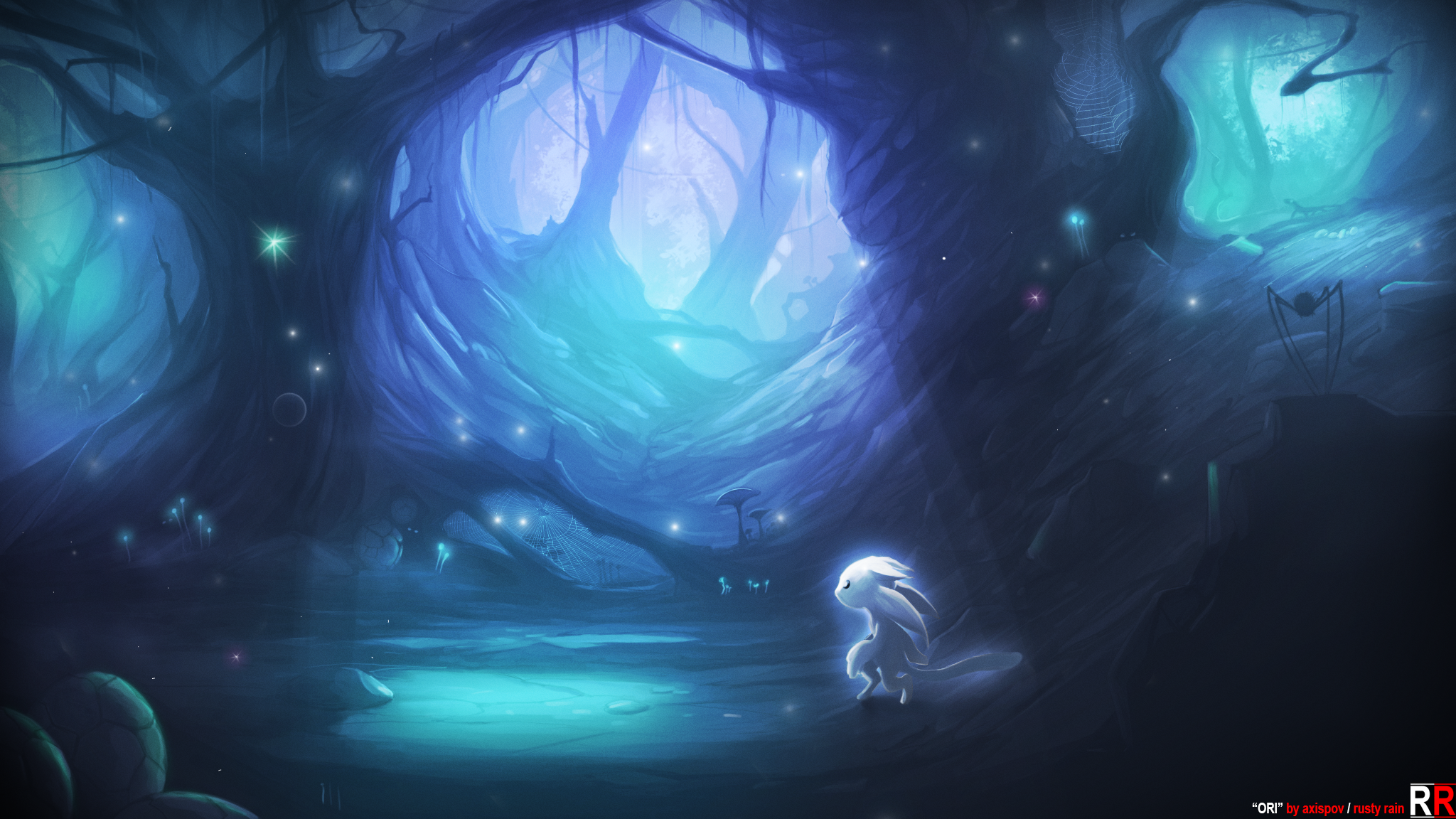 Ori And The Blind Forest Fan Art By Axispov On Deviantart