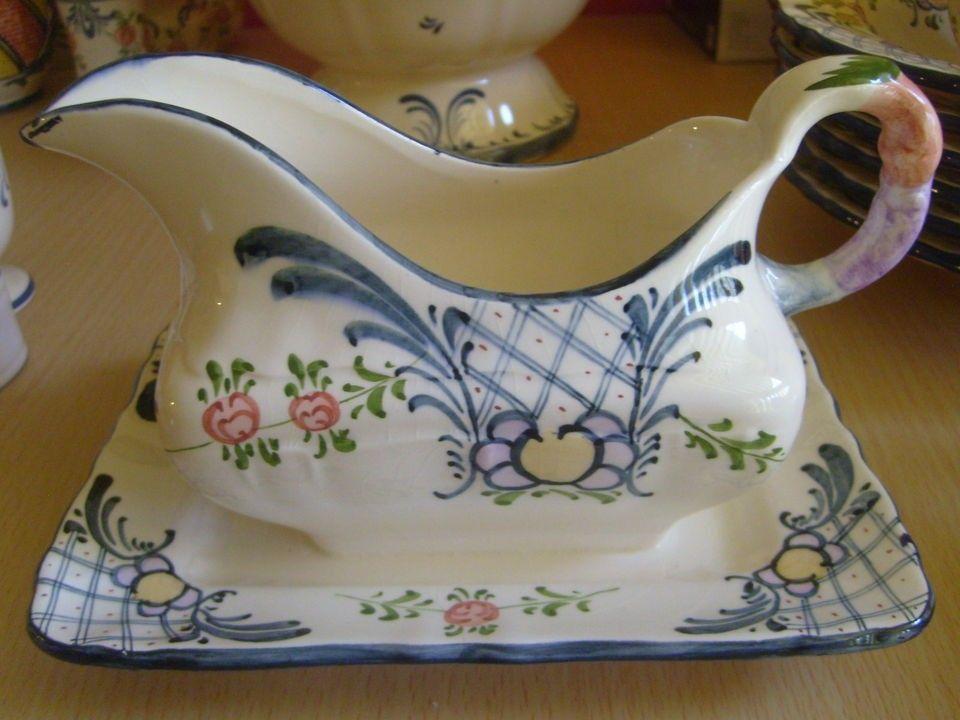 Rare Antique Georg Schmider Zeller Keramik Germany Favorite Sauceboat Rare Antique Antiques Rare