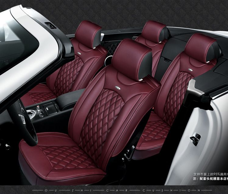 for Hyundai Accent SONATA ELANTRA ix35 tucson black soft leather car ...