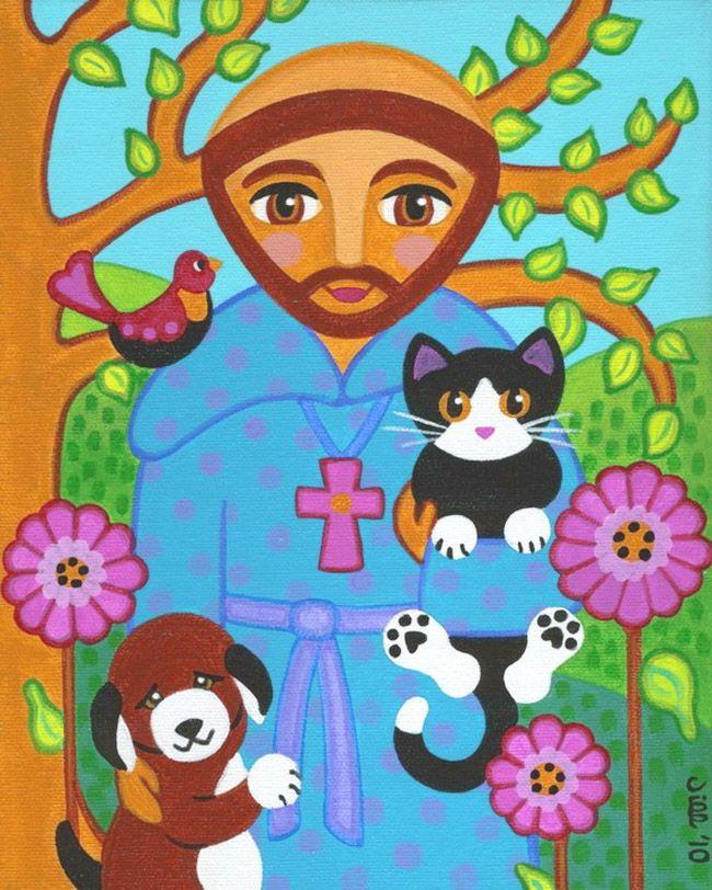 04 De Outubro Dia De Sao Francisco O Protetor Dos Animais Dia