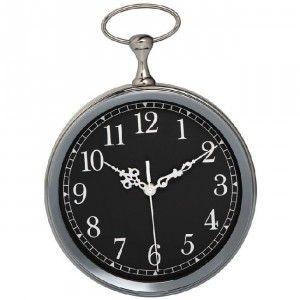 Horloge Vintage Noire Ou Blanche Horloge Decoration Murale