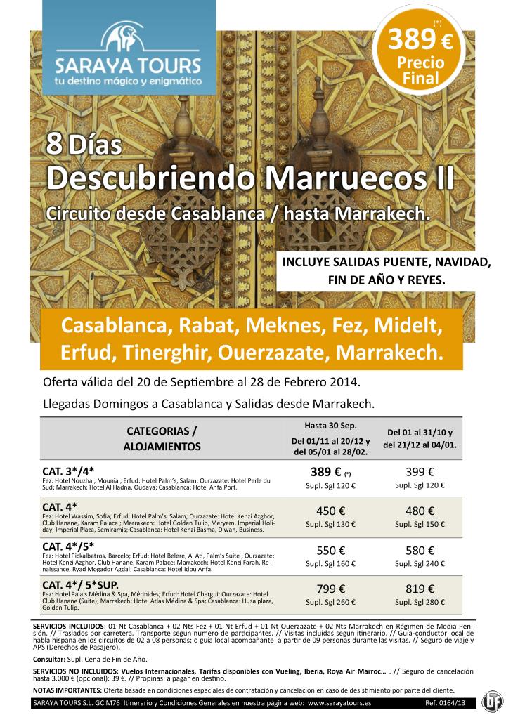 Super Oferta Descubriendo Marruecos II (Casblanca, Fez, Erfud, Ourz y Marrakech) Visitas incluidas 389€ ultimo minuto - http://zocotours.com/super-oferta-descubriendo-marruecos-ii-casblanca-fez-erfud-ourz-y-marrakech-visitas-incluidas-389e-ultimo-minuto/