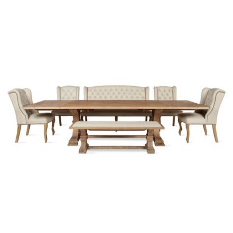Archer Large Extending Dining Table Rectangular From Z