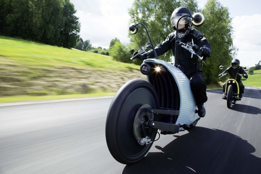 Pinterest Image Sharer Johammer J1 Electric Motorcycle exudes style with performance