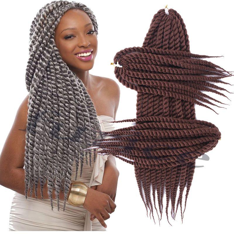 Aliexpress Com Buy Havana Mambo Twist Crochet 18inch Braid Hair 60 120g Pack 2x Synthetic S Havana Mambo Twist Crochet Havana Braids Braid In Hair Extensions
