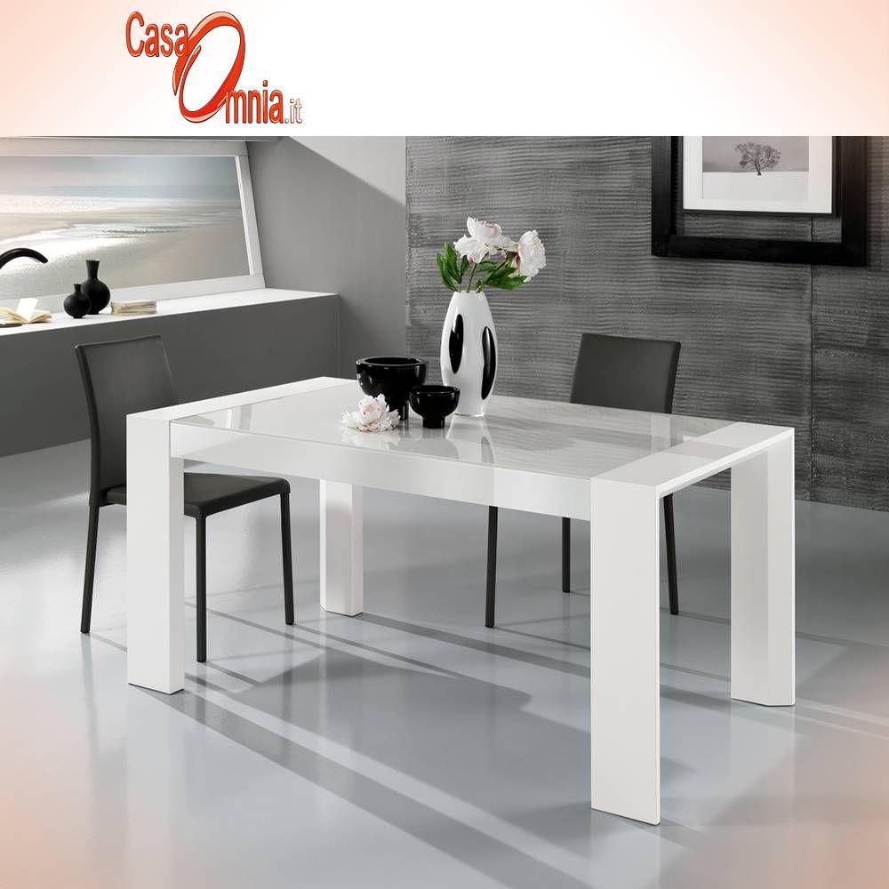 Tavolo da pranzo Vogue allungabile con gambe in MDF e ...