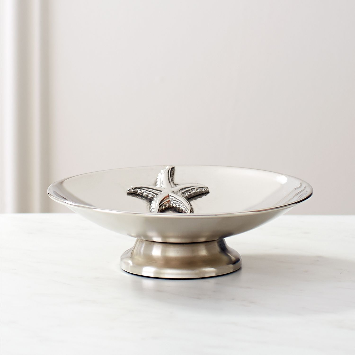 Silver Starfish Soap Dish | *Bathroom Accessories > Soap Dishes ...