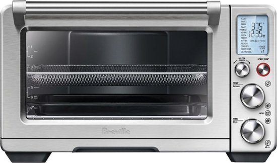 Breville The Smart Oven Air Convection Toaster Pizza Oven Stainless Steel Bov900bss Convection Toaster Oven Smart