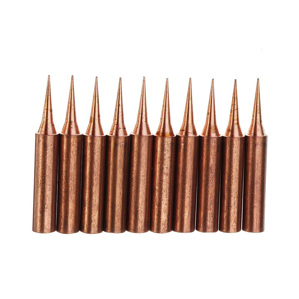 10pcs pure copper iron tips 900mti soldering tips for