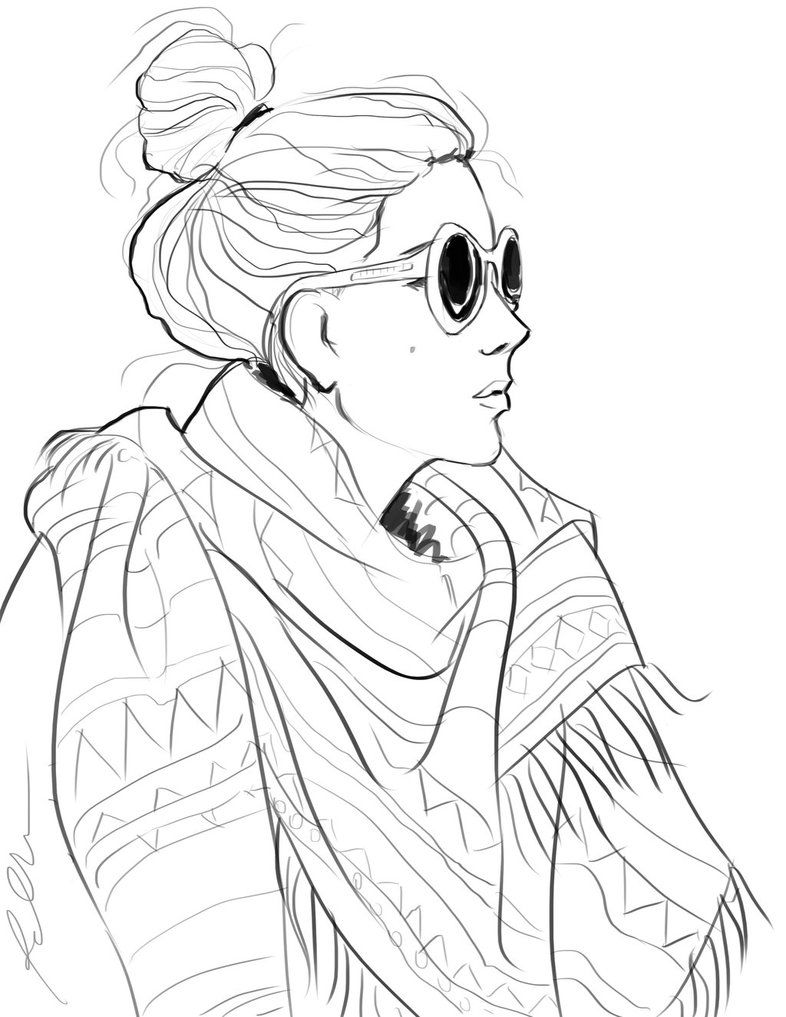 fashion coloring pages for adults google search - Coloring Pictures Of People