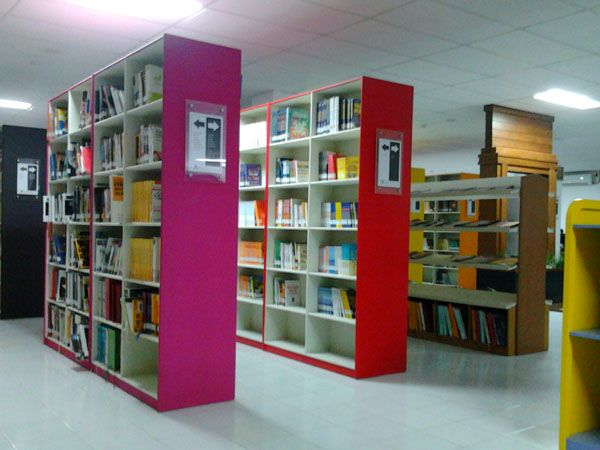 stunning bookcase design ideas colorful interior design library home design httpseekayem - Library Design Ideas