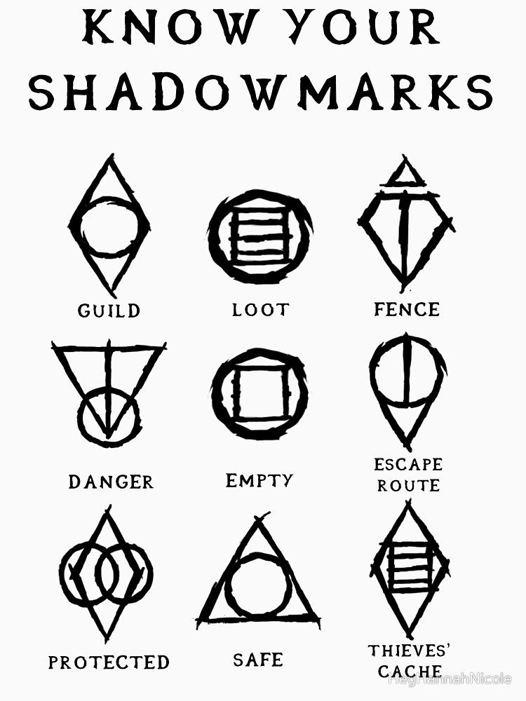 Know Your Shadowmarks Dark Unisex T Shirt Ffs Pinterest