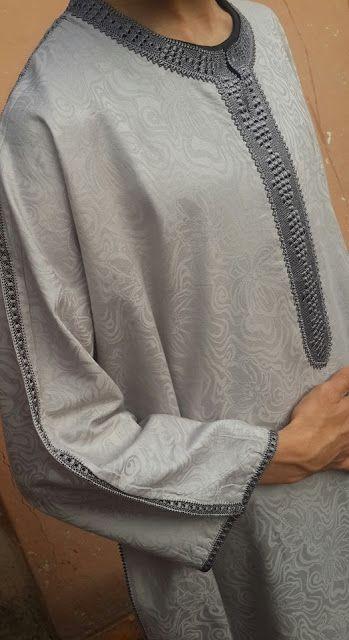 3022b2911 تعليم فنون الخياطة والأشغال اليدوية كخياطة الراندة Jabador Marocain, Jelaba  Marocaine, Randa Marocaine,