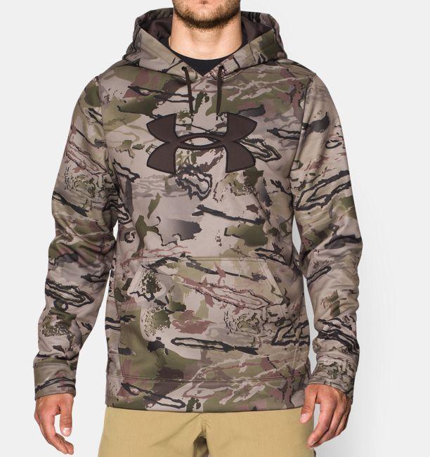 mens under armour camo jacket