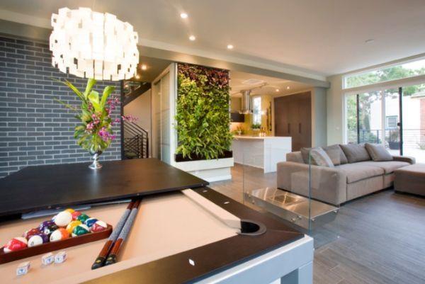 Wohnzimmer Originelle Deko Pflanzen