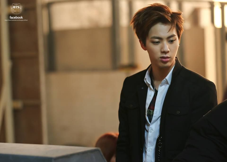 Jin Bts Boy In Luv Mv Shooting Sketch Kim
