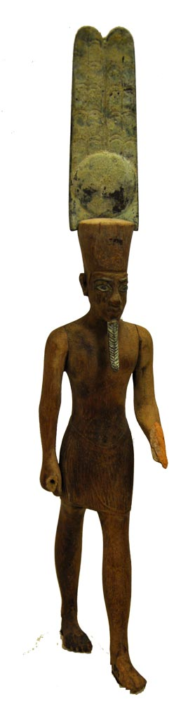 Amun-Re or Pharaoh 76.1.396 Egypt: New Kingdom (post-Armarna Period), c. 1325 BCE