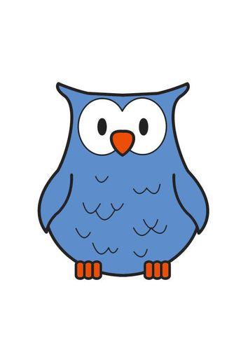 uil tekening. | uilen en uilpatronen - láminas para decoupage