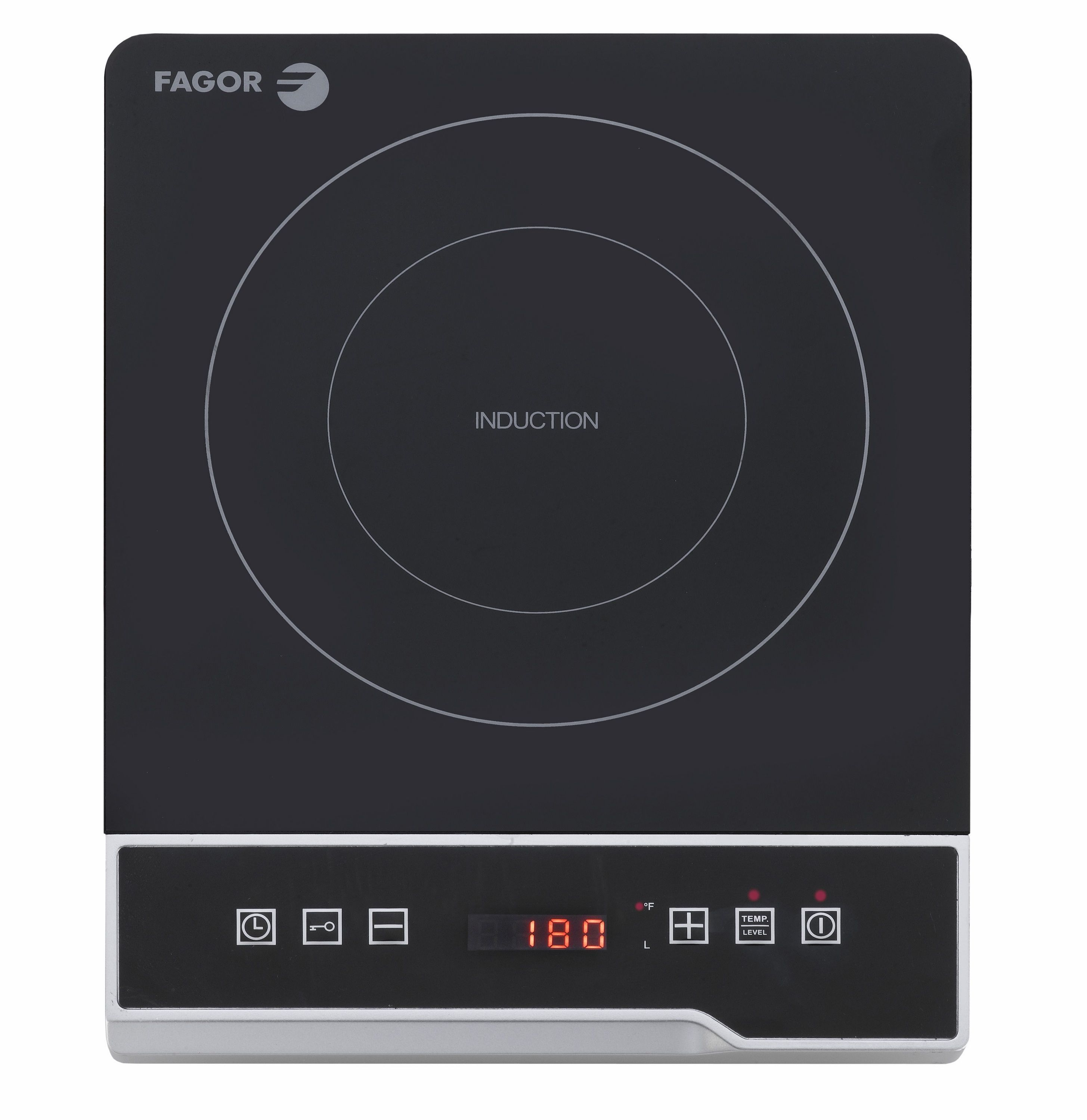 Fagor UCook Induction Cooktop, Black