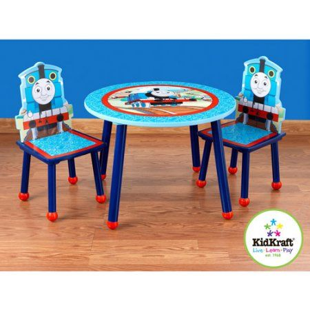 Thomas Friends Table And 2 Chairs Set Red