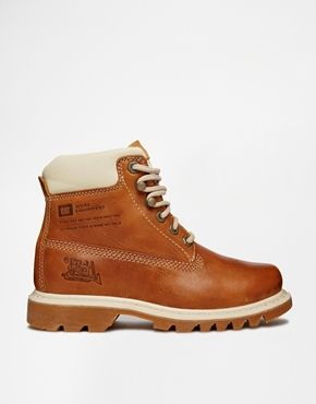 Caterpillar boots, Boots, Lace up ankle