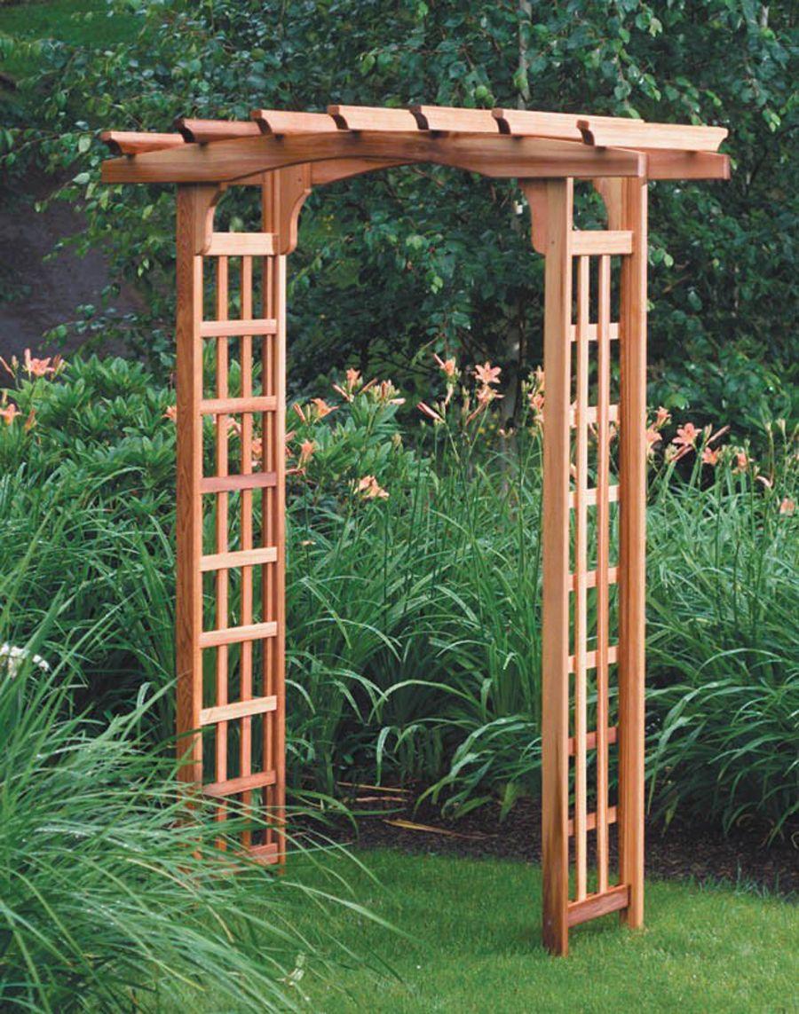Exotic Garden Structure Design for Home Garden Accessories Arbor