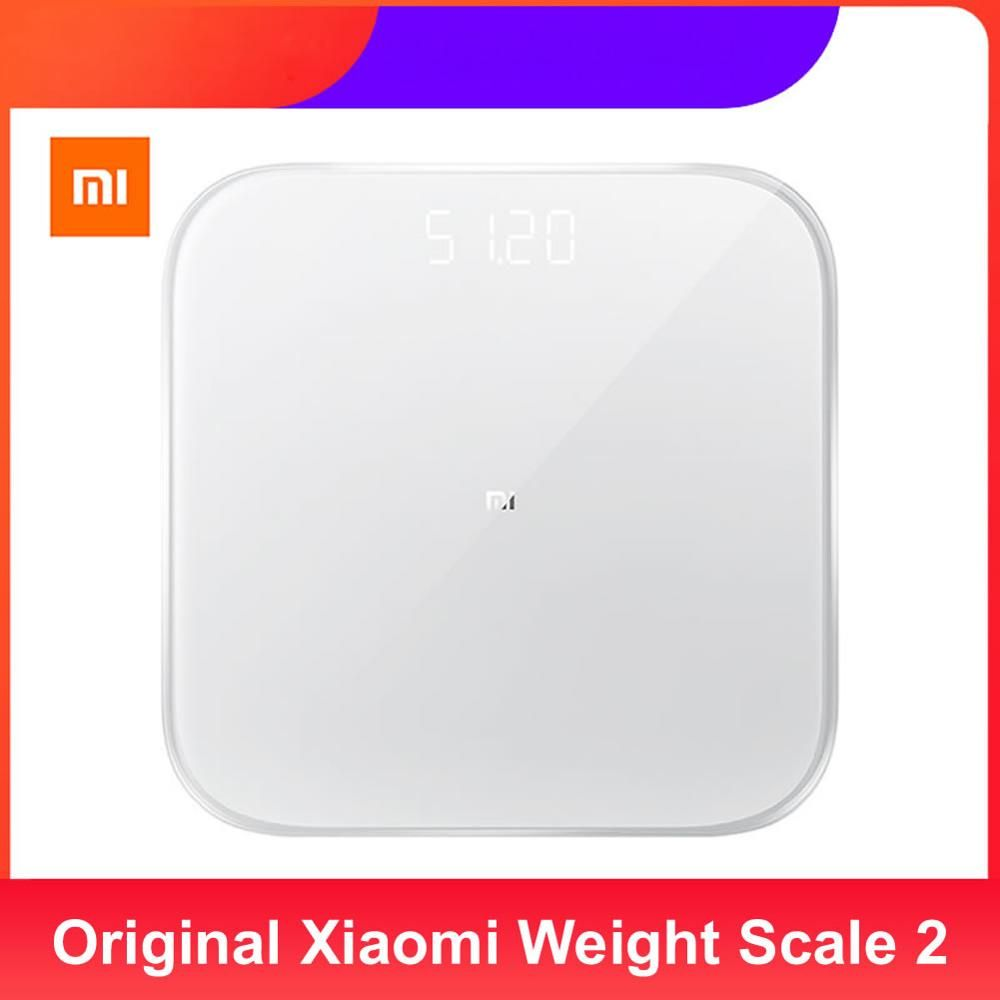 Original Xiaomi Weight Scale 2 Health Weighting Scale Bluetooth 5 0 Home Digital Scale Mi Smart Scale Work With Mifit App Bathroom Scales Aliexpress 2020