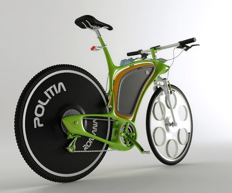 Hi Technology Bicycle Concept