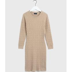 Photo of Gant Cable Knit Dress (Beige) Gant