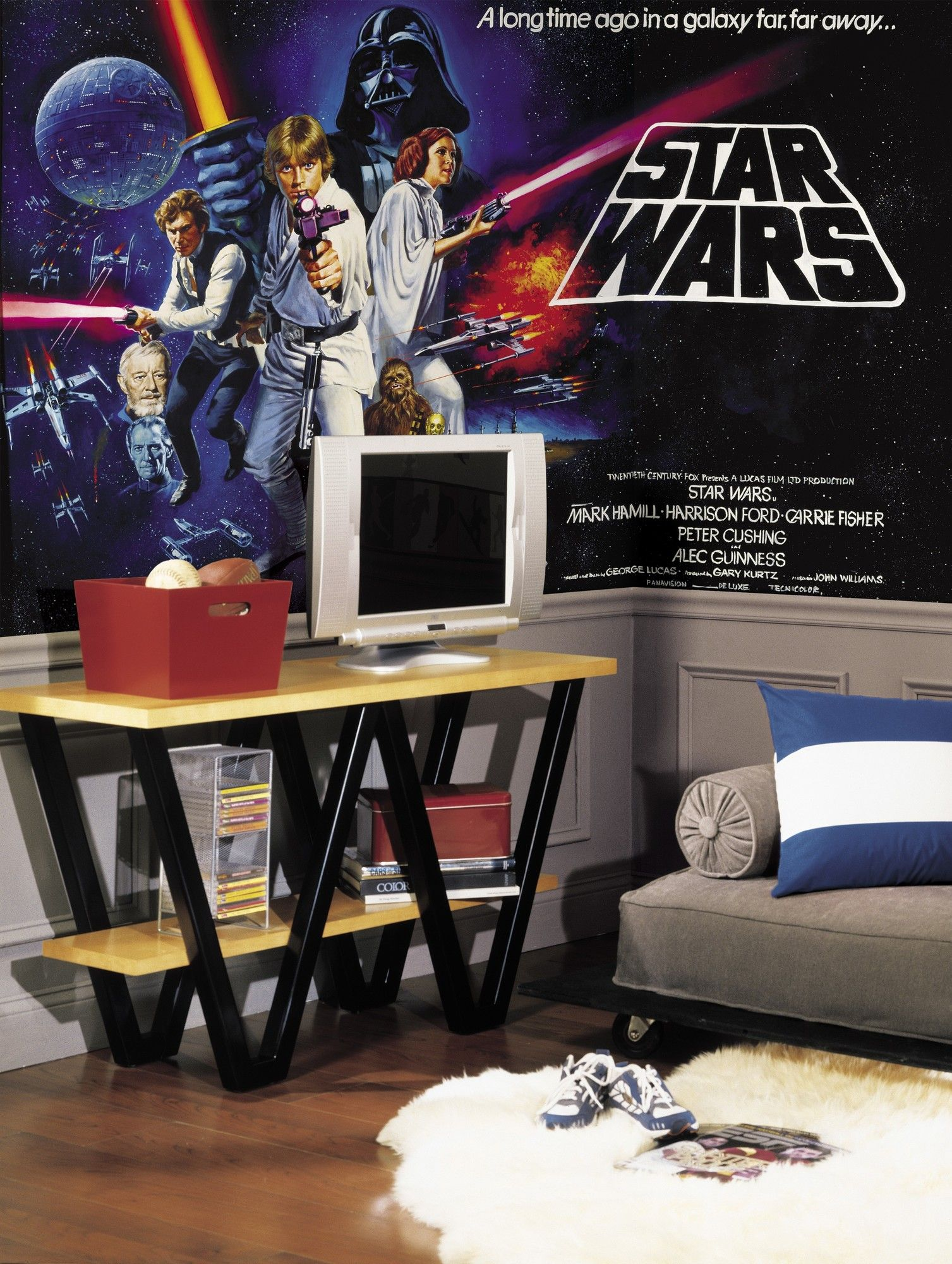 Extra Large Murals 10 5 X 72 Wall Mural Star Wars Wall Mural Star Wars Wall Decal Star Wars Room