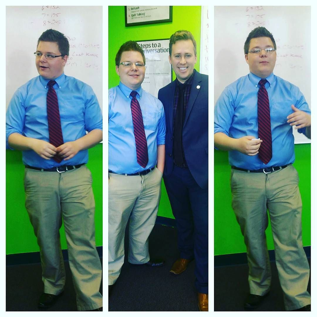 Justin's #promoted!!! That's what's up! #growth #managementtraining #leadershipdevelopment #winning #aleuroinc