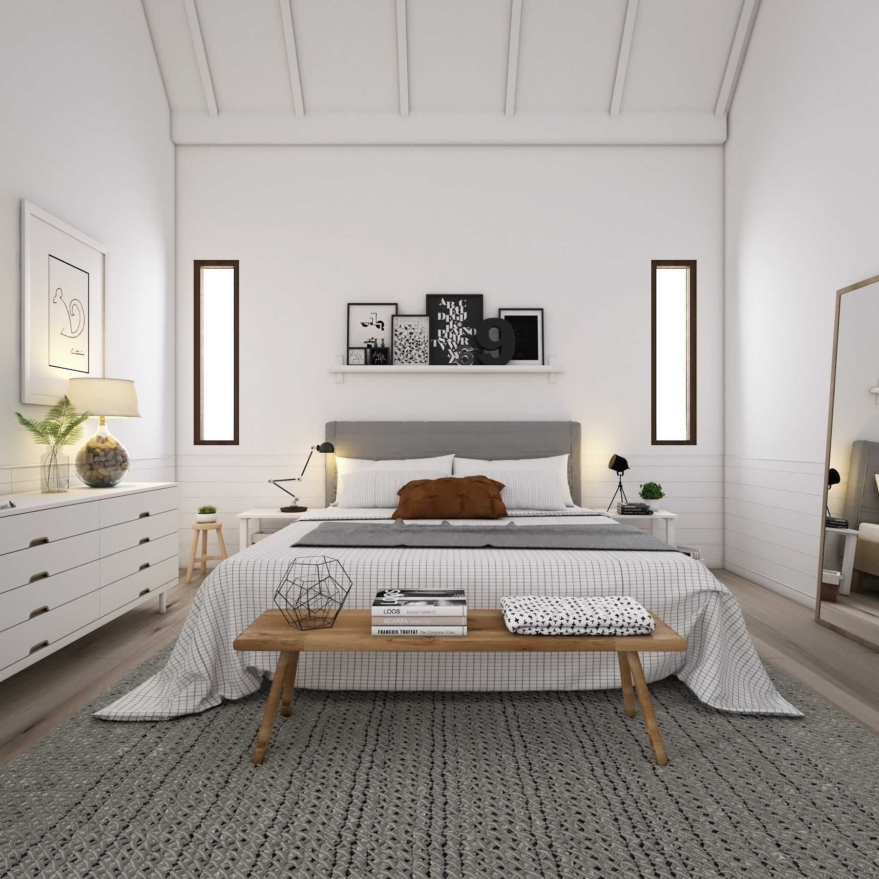 Scandinavia Bedroom Scandinavian House Medan Sumatra Utara La Casa Interior Scandinavian Room Decor Scandinavian Home Interior