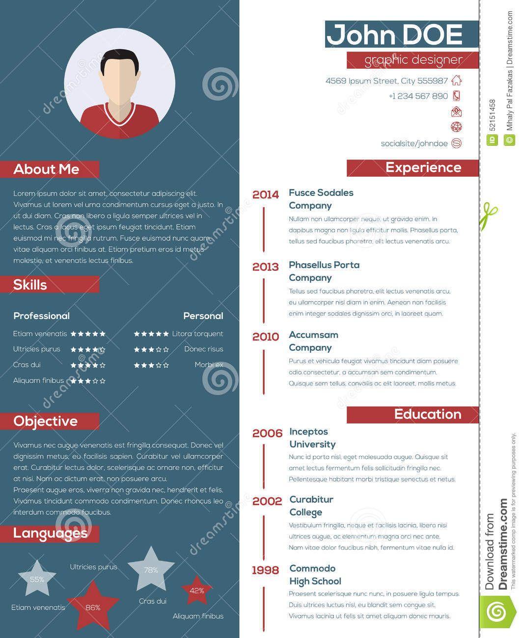 Modern Resume Google Kereses Resume Pinterest Modern