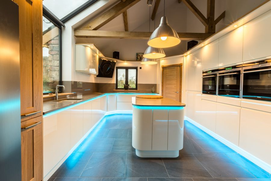 Colour changing led plinth and under worktop strip lighting colour changing led plinth and under worktop strip lighting atlantis kitchens aloadofball Choice Image