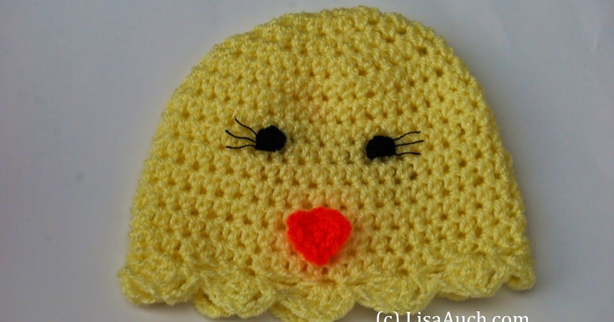 Free Crochet Patterns For Easter Crochet This Easy Easter Hat That