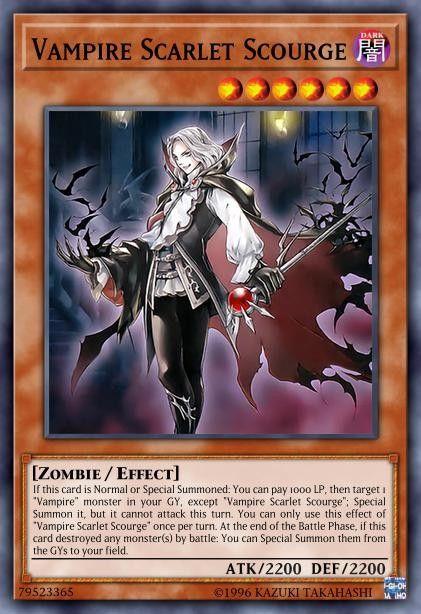pinallison higdon on yugioh  yugioh vampire cards