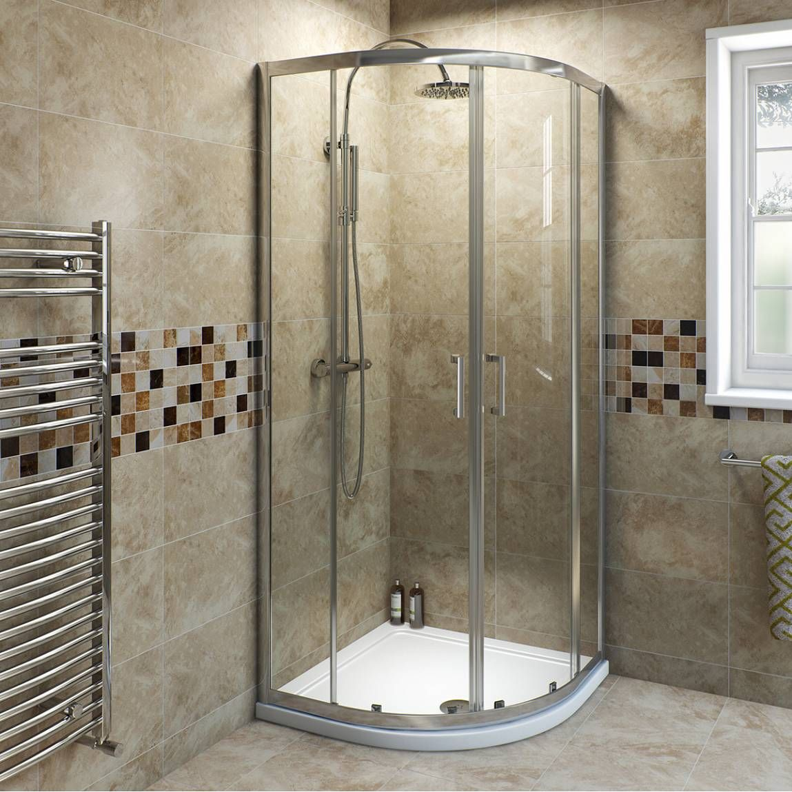 V6 quadrant shower enclosure 800 ideas for the ensuite pinterest quadrant shower for Small shower enclosures for small bathrooms