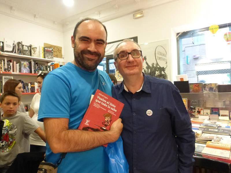 Javier Fernández Panadero y Vuelve el listo que todo lo sabe
