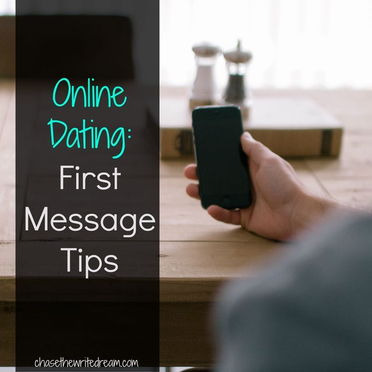 what to say online dating first message