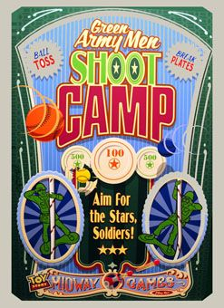 Image result for Green Army Men Shoot Camp