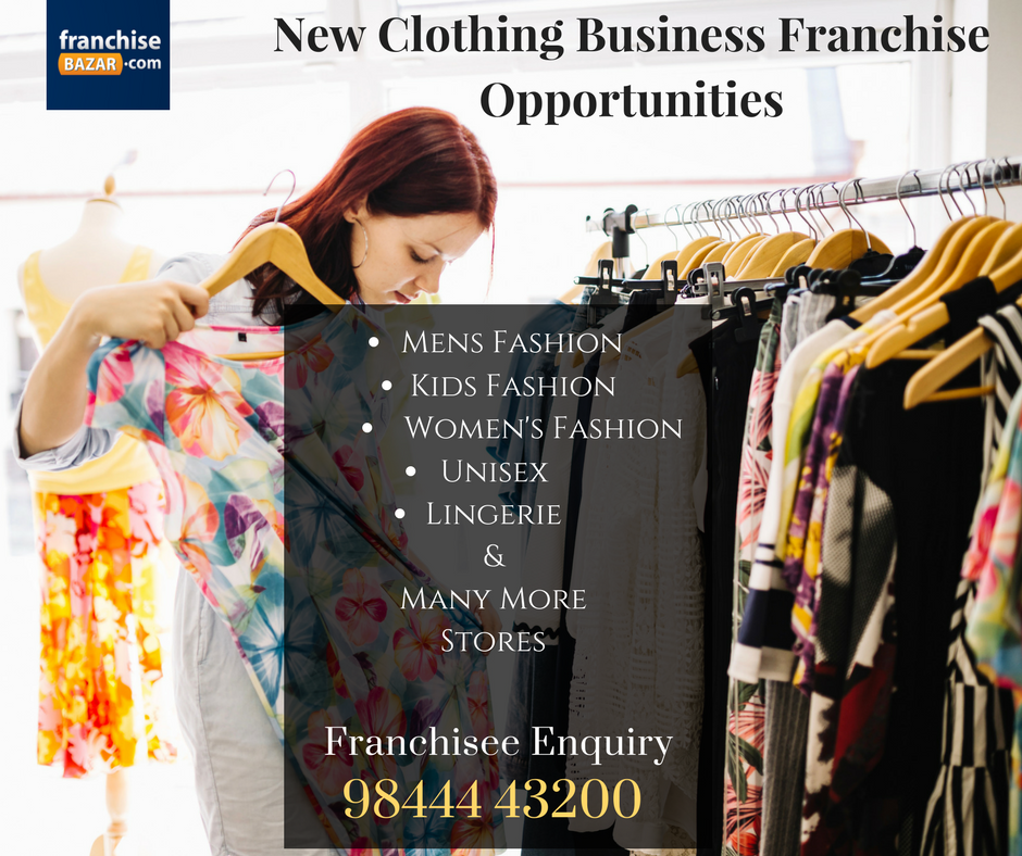 Apparel Business Franchise Fashion Franchise Opportunities Franchising Retail Franchise
