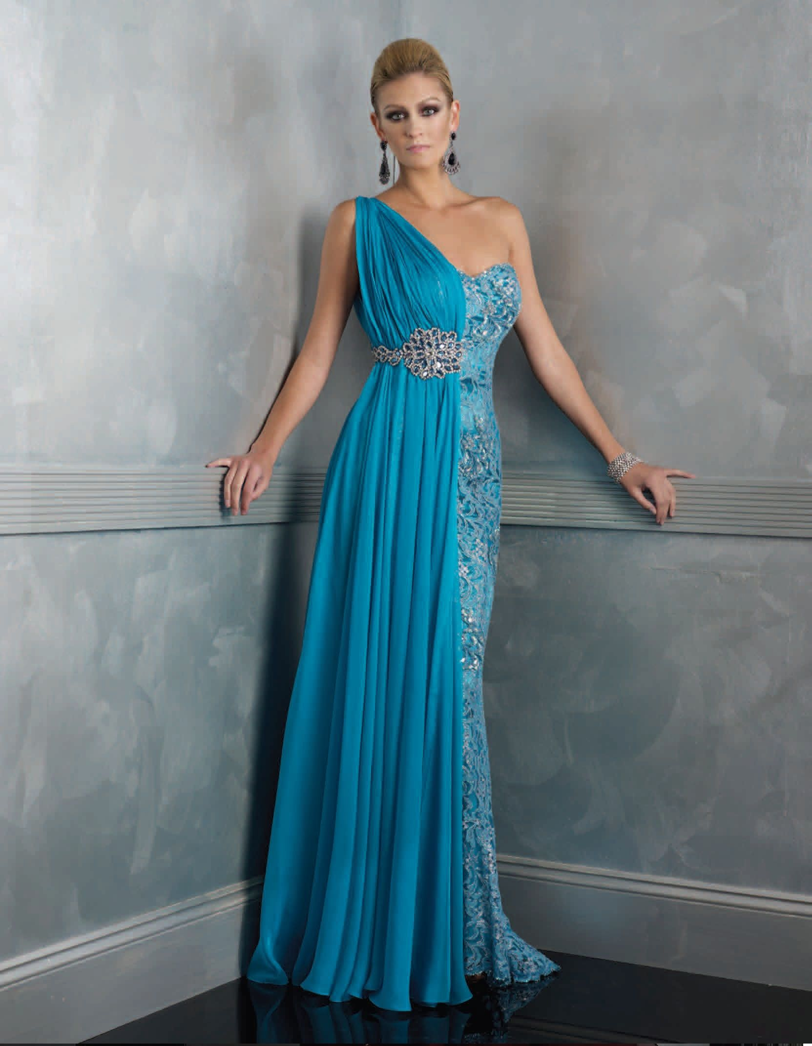 Bridesmaids (Long) : Elegant Evening Dress 11 | Bride-zilla.net ...